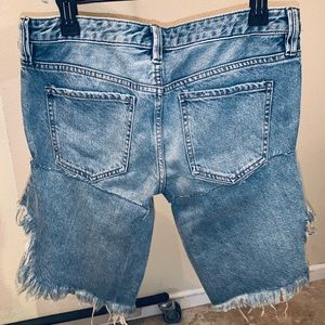 NWT Free People Unique Jean Shorts!! 💙